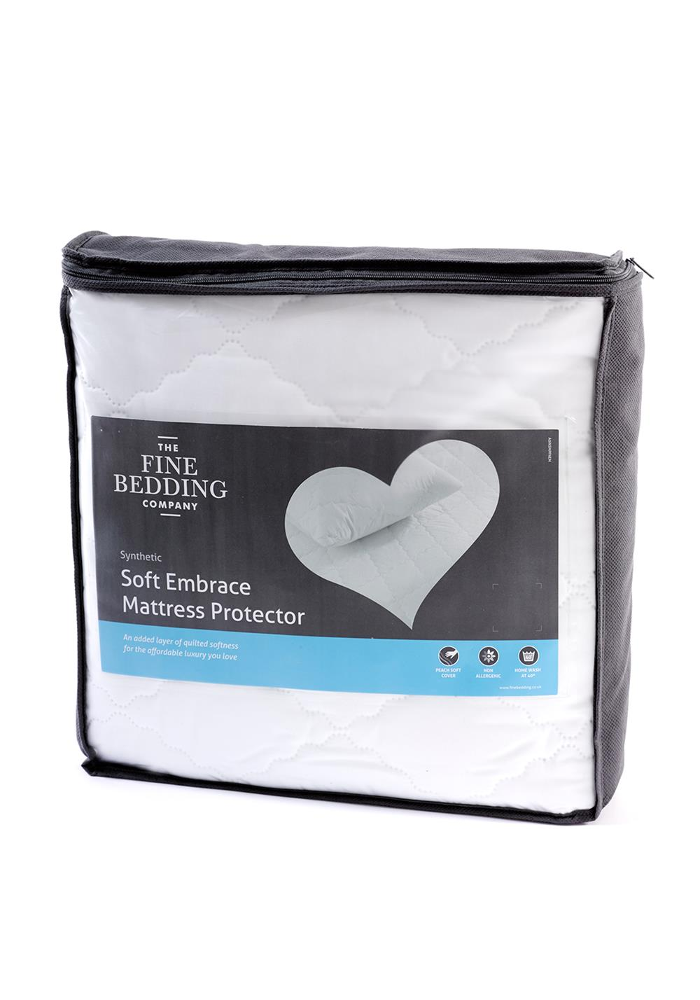 The Fine Bedding Company Soft Embrace Mattress Protector