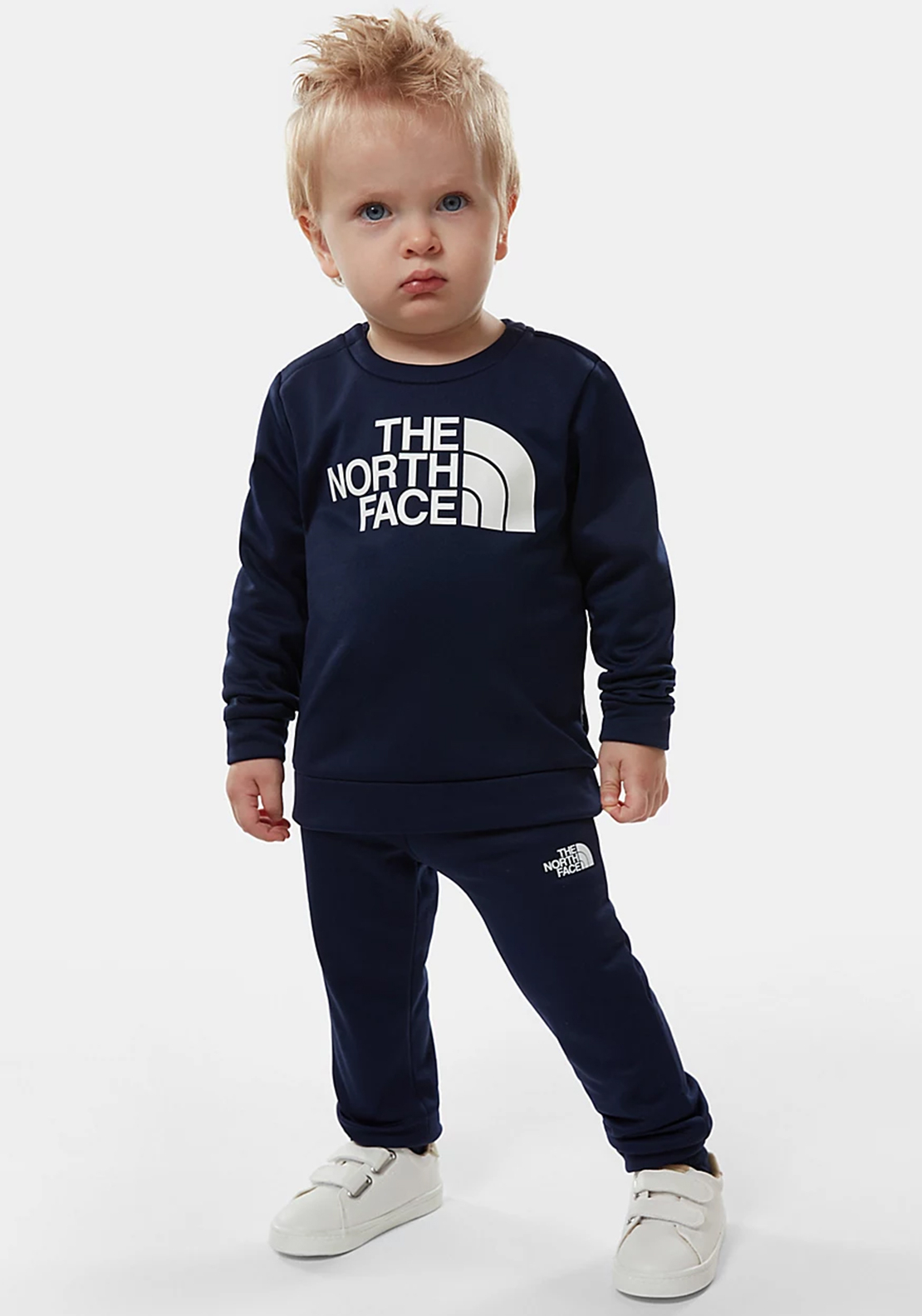 The North Face Mini Boys Surg Crew Set, Navy