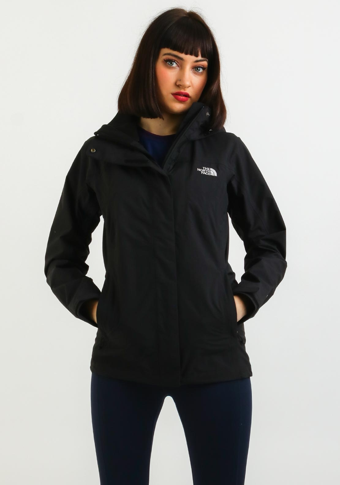 The North Face Womens Parka Jacket, Black