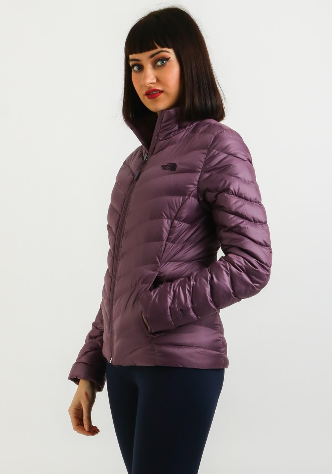 The North Face Womens Trevail Padded Jacket, Purple