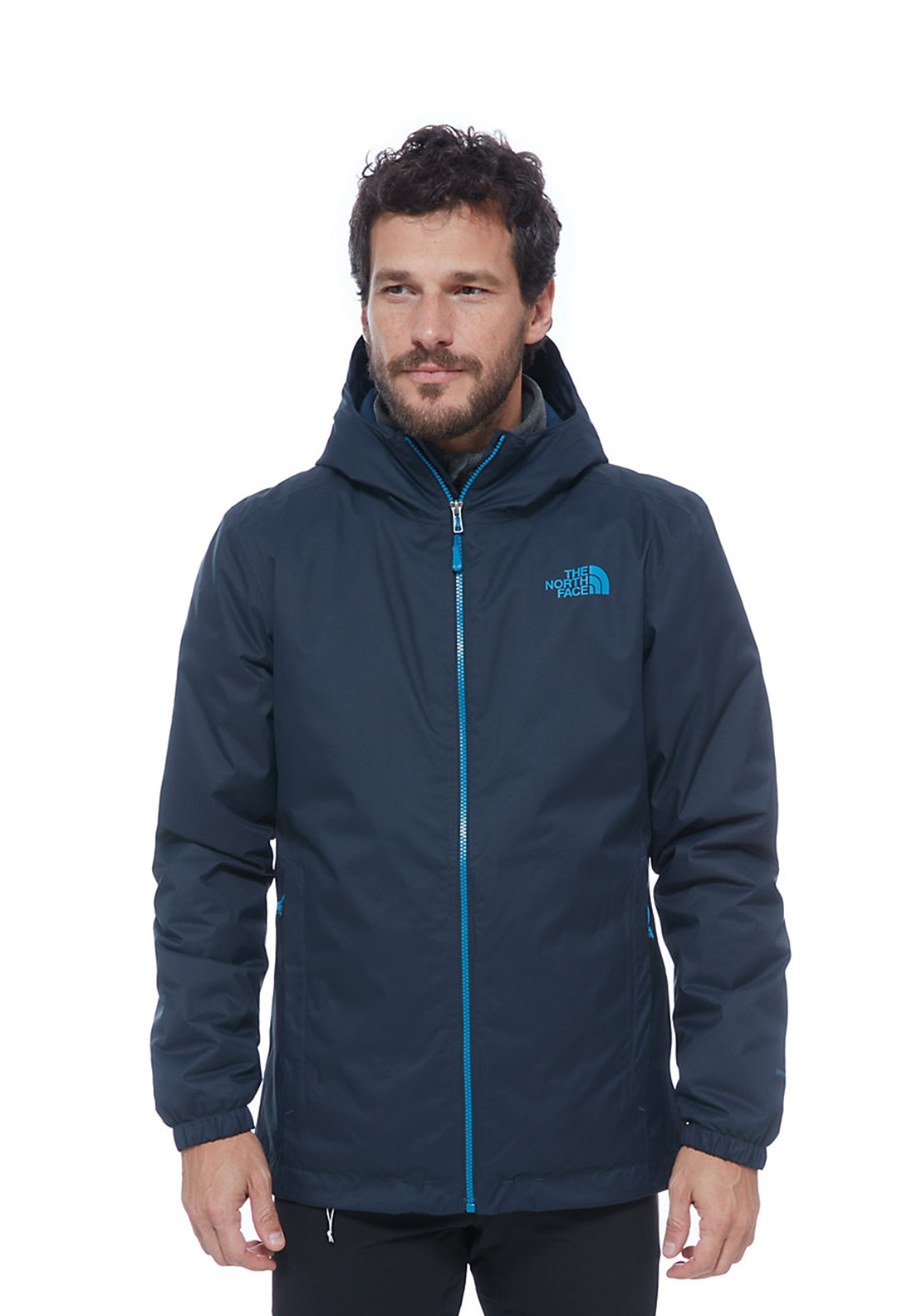 The North Face Mens Quest Hooded Jacket, Navy