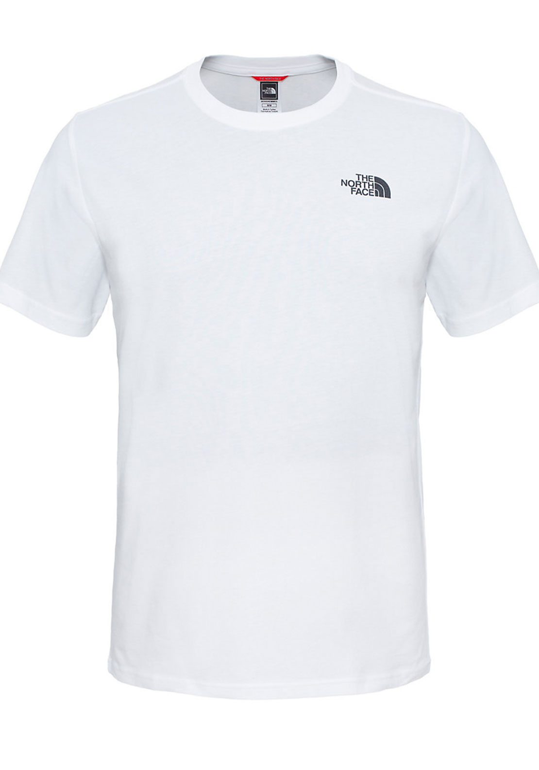 The North Face Mens Red Box Tee, White