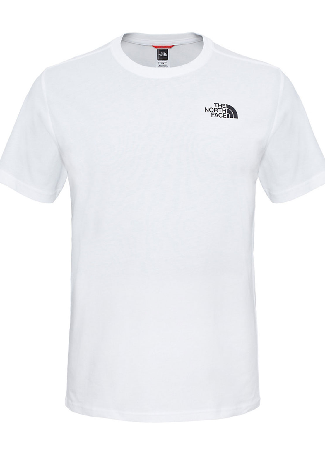 The North Face Mens Mens Simple Dome Tee, White