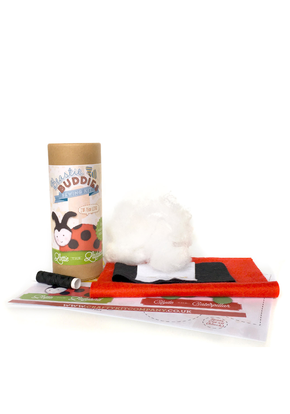 The Crafty Kit Co. Lottie the Ladybird Sewing Kit
