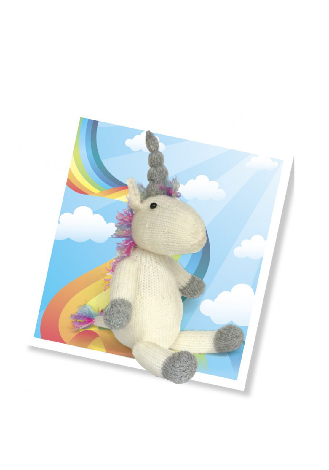 The Crafty Kit Co. Knit Your Own Unicorn Sewing Kit