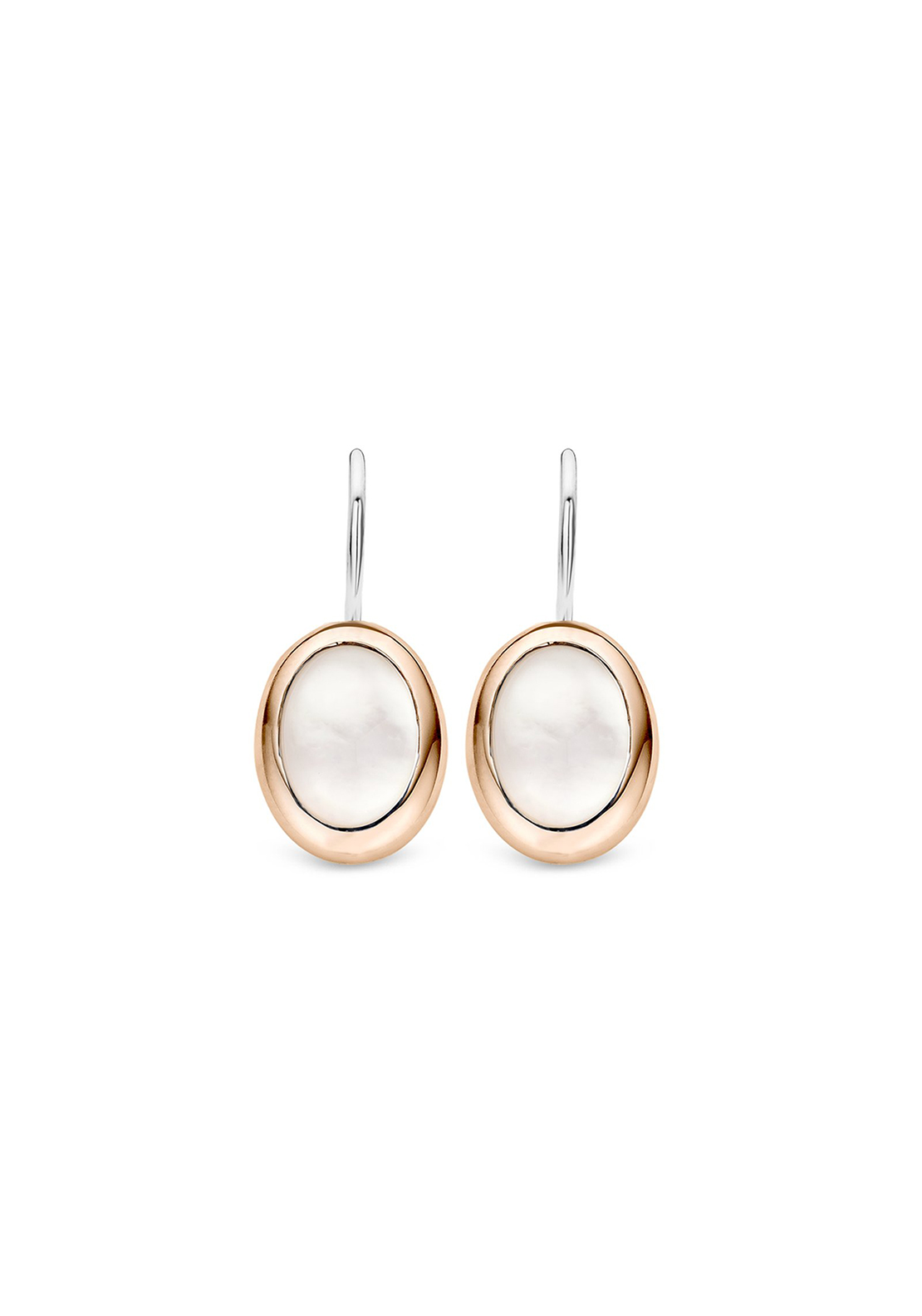 Ti Sento Rose Gold Drop Earrings