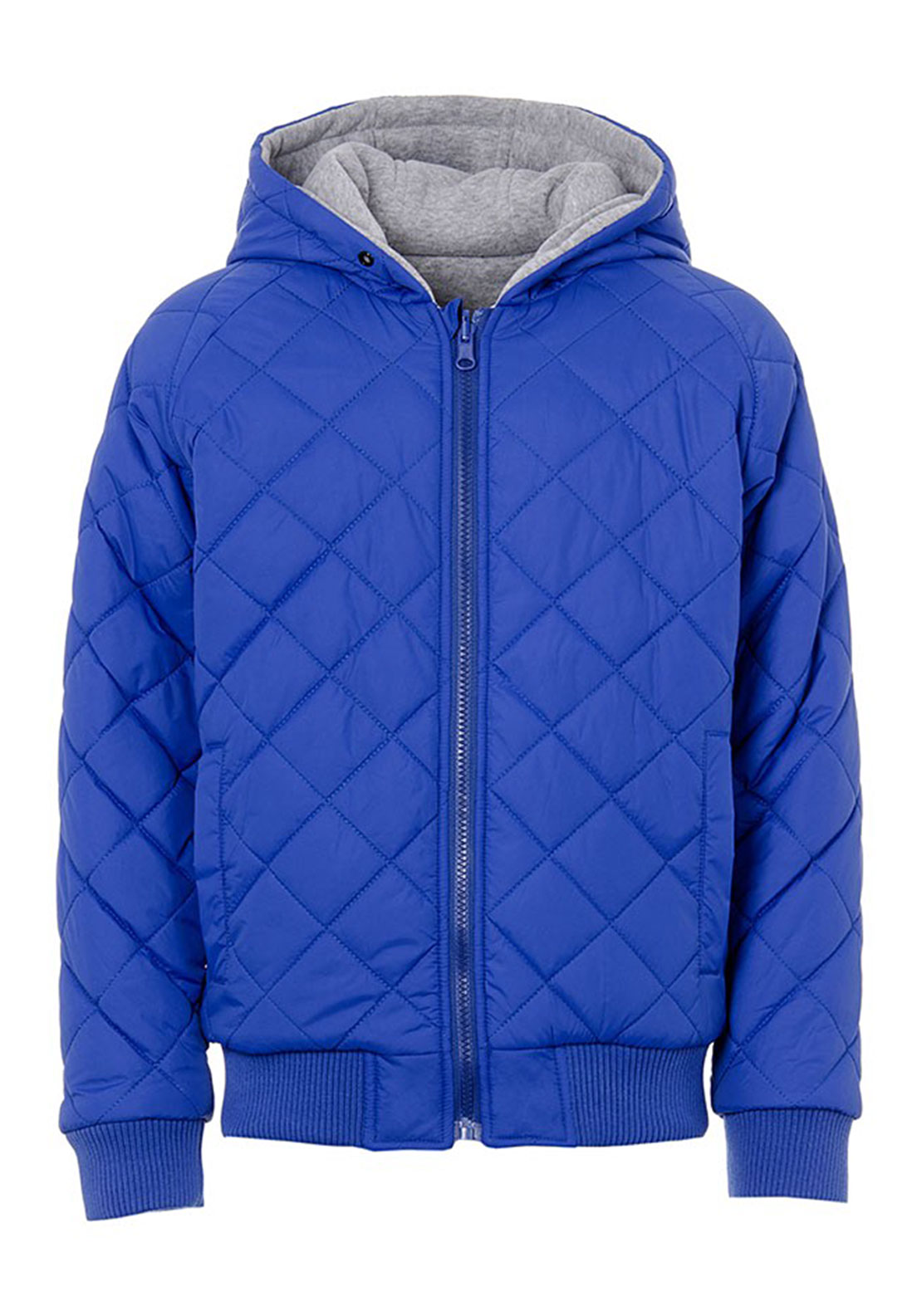 Tiffosi Boys Malcon Reversible Quilted Jacket, Blue