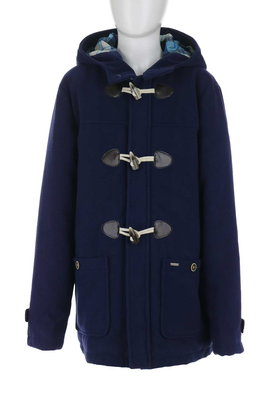 Tiffosi Boys Luther Duffle Coat, Navy