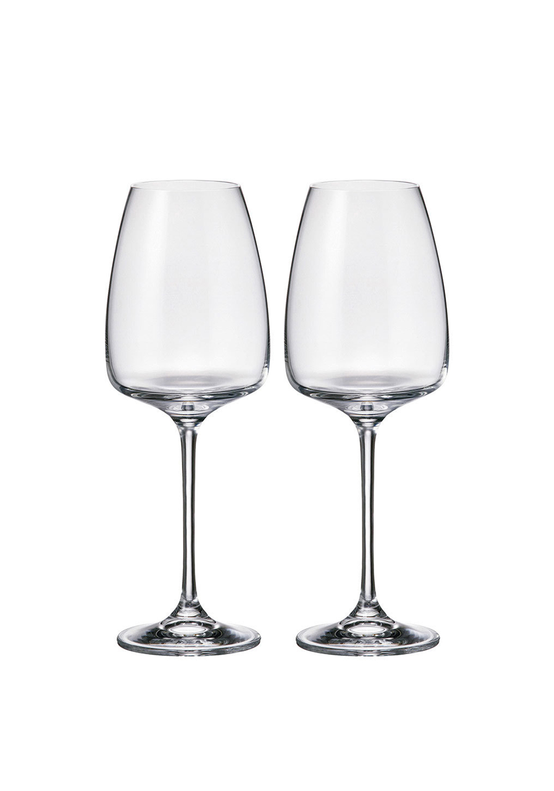 Tipperary Crystal Connoisseur Set of 2 White Wine Glasses 440ml Gift Box