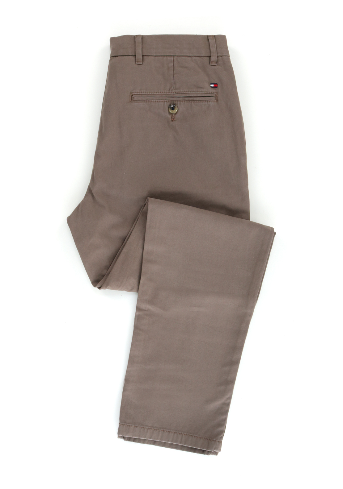 Tommy Hilfiger Mens Mercer Chino Trouser, Taupe