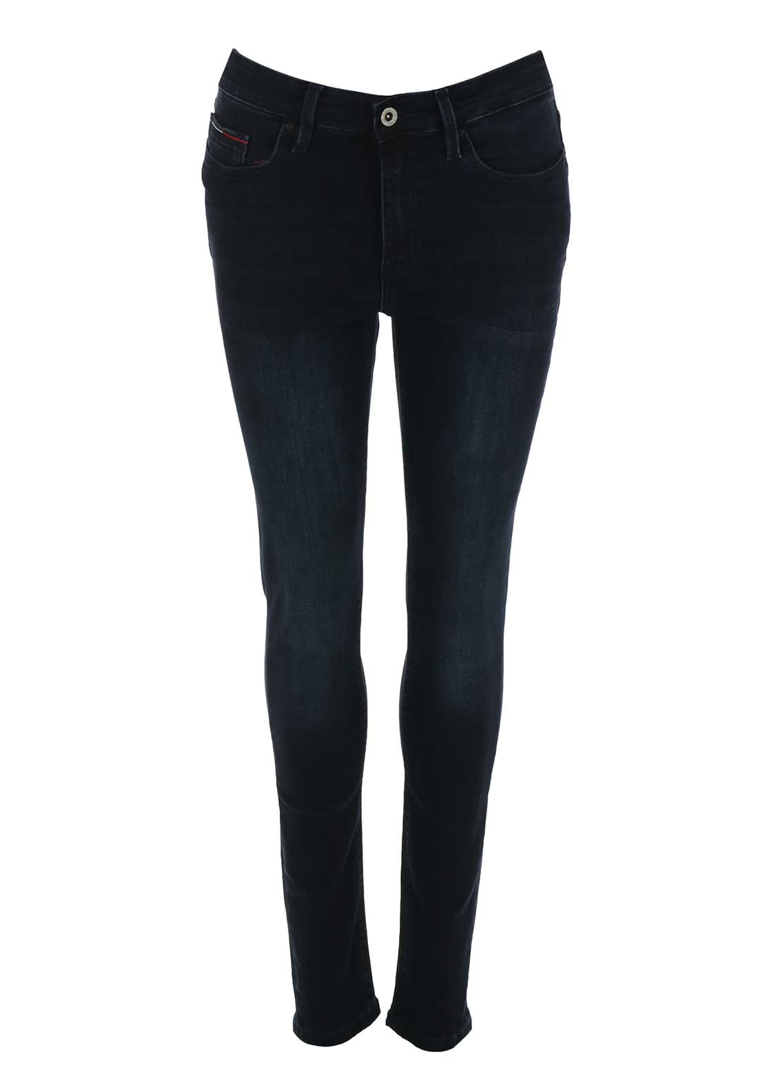Tommy Hilfiger Womens Santana High Rise Skinny Jeans, Deepest Navy