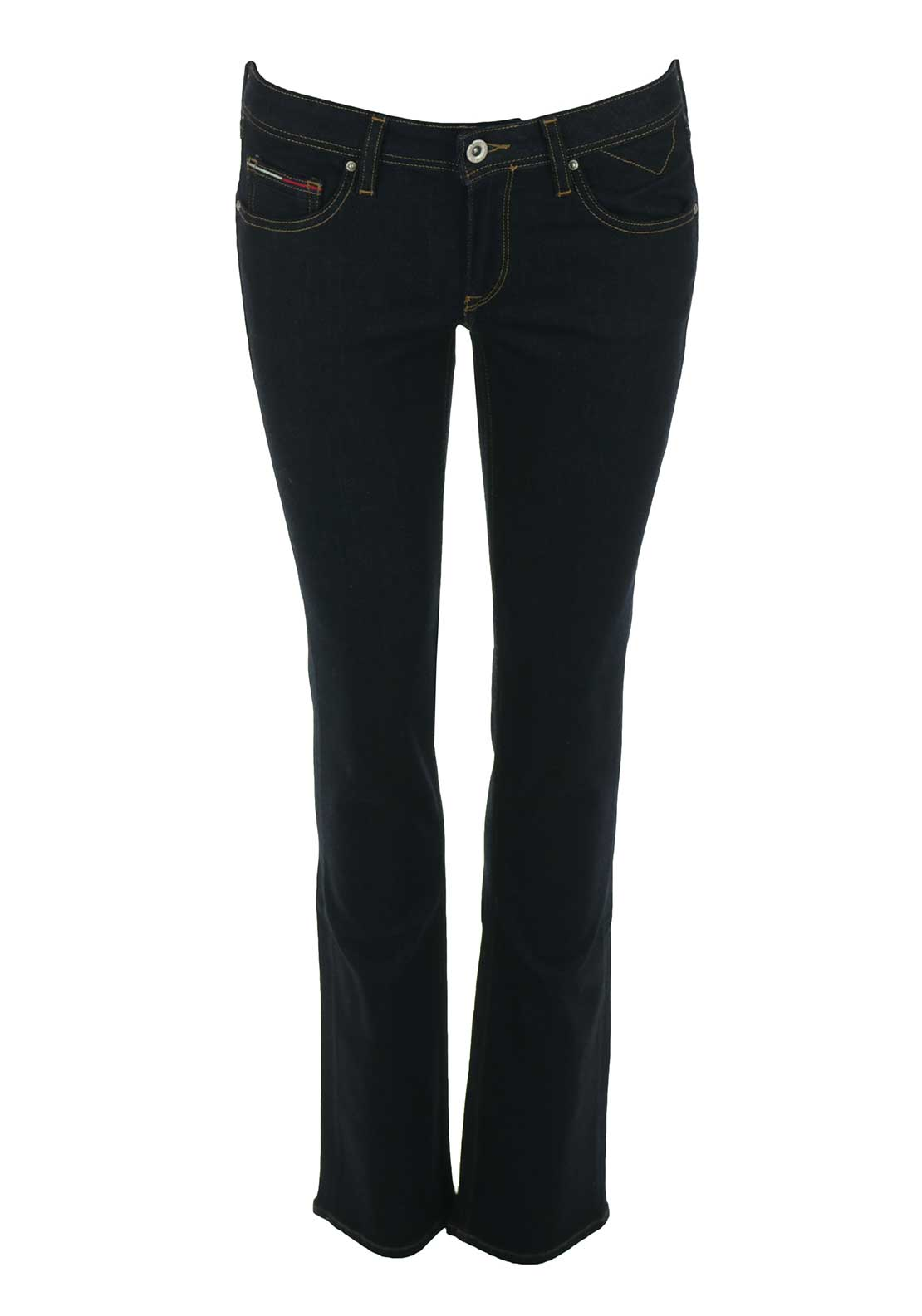 Tommy Hilfiger Womens Sandy Straight Jeans, Navy