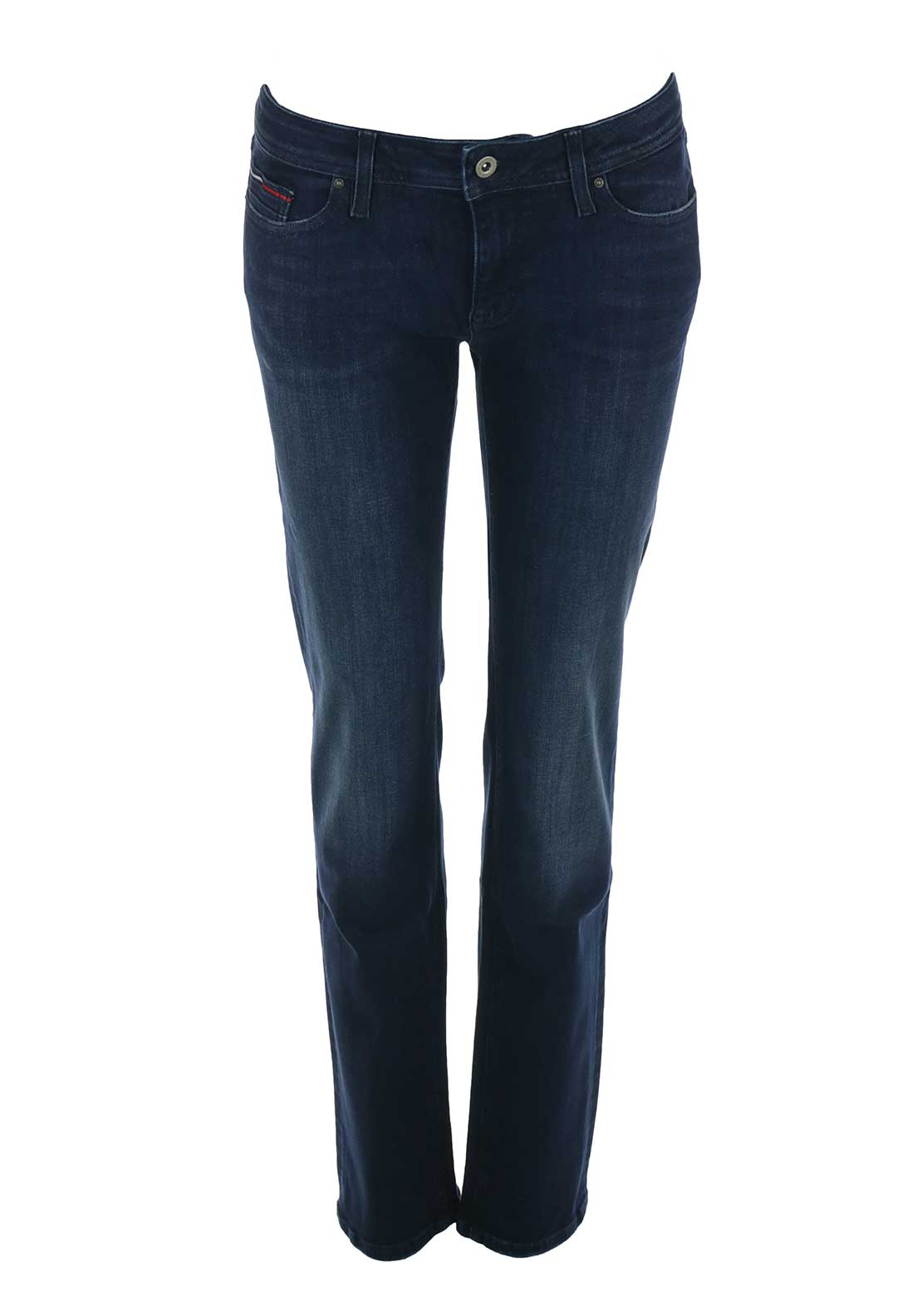 Tommy Hilfiger Womens Sanday Straight Jeans, Blue