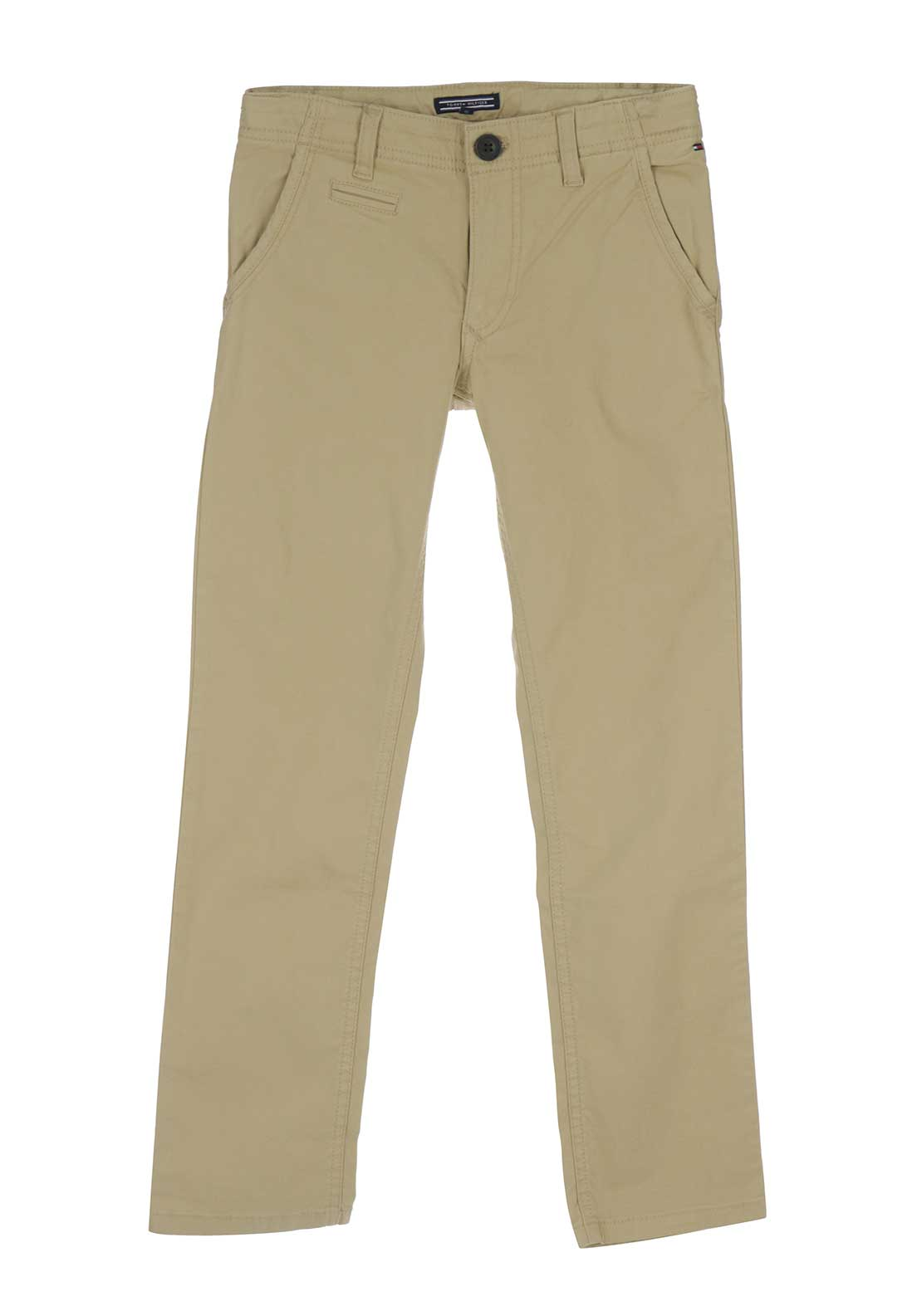 Tommy Hilfiger Boys Denton Chino Trousers, Beige