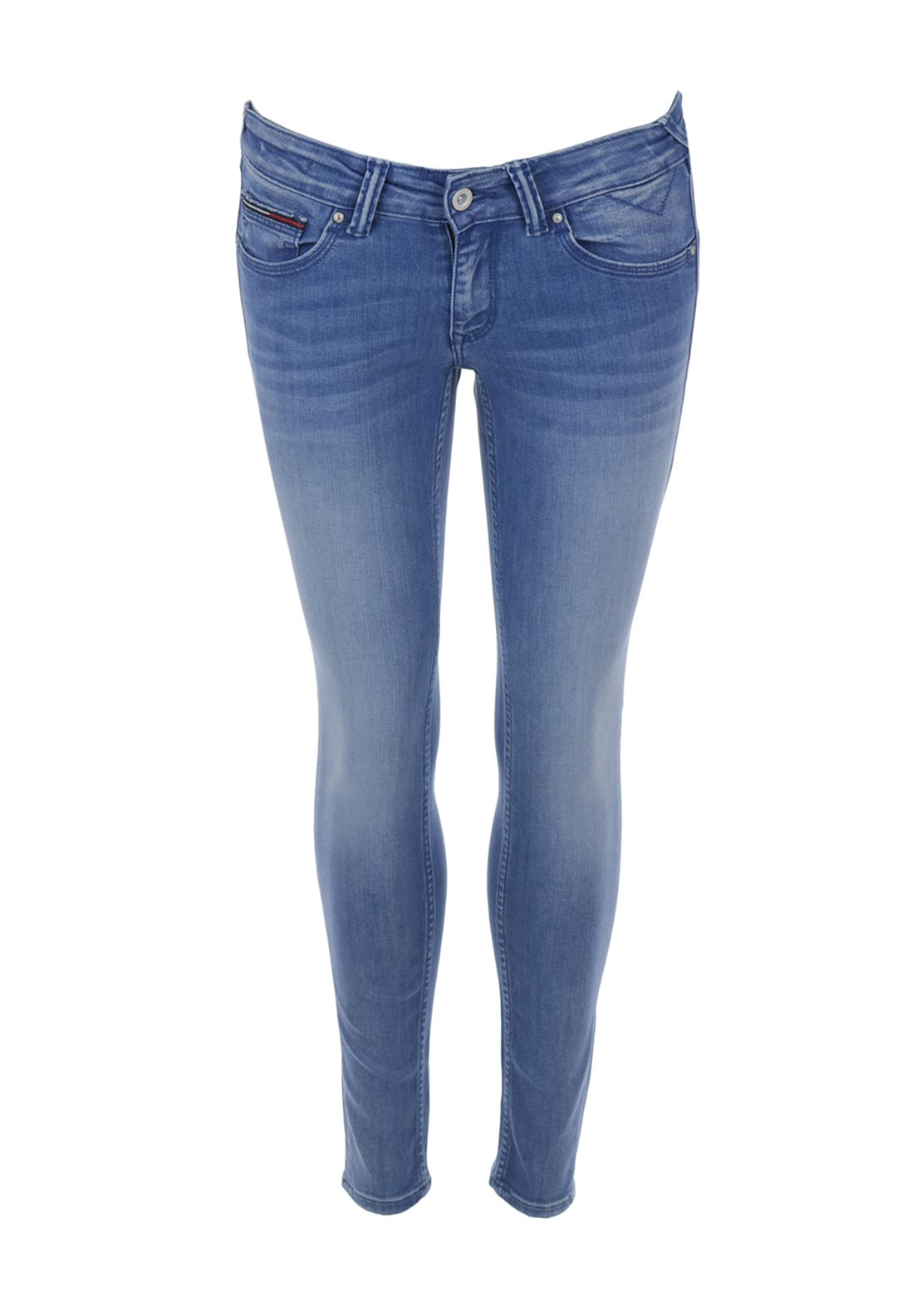Tommy Hilfiger Sophie Low Rise 7/8 Skinny Jeans, Light Blue Denim