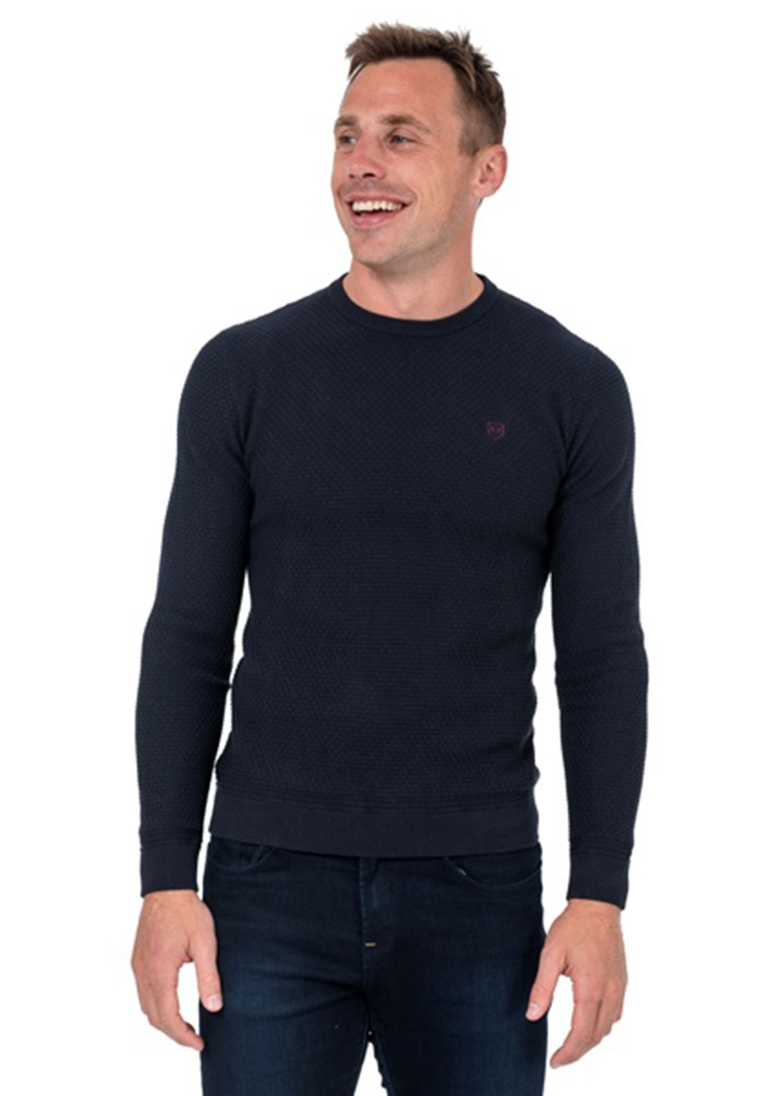 XV Kings by Tommy Bowe Corinthians Sweater, Navy