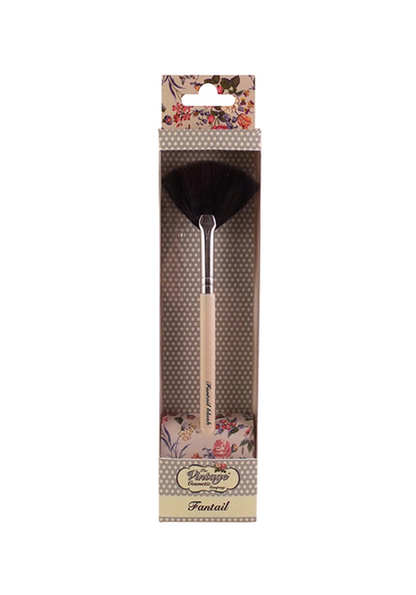 The Vintage Cosmetic Company Fantail Brush