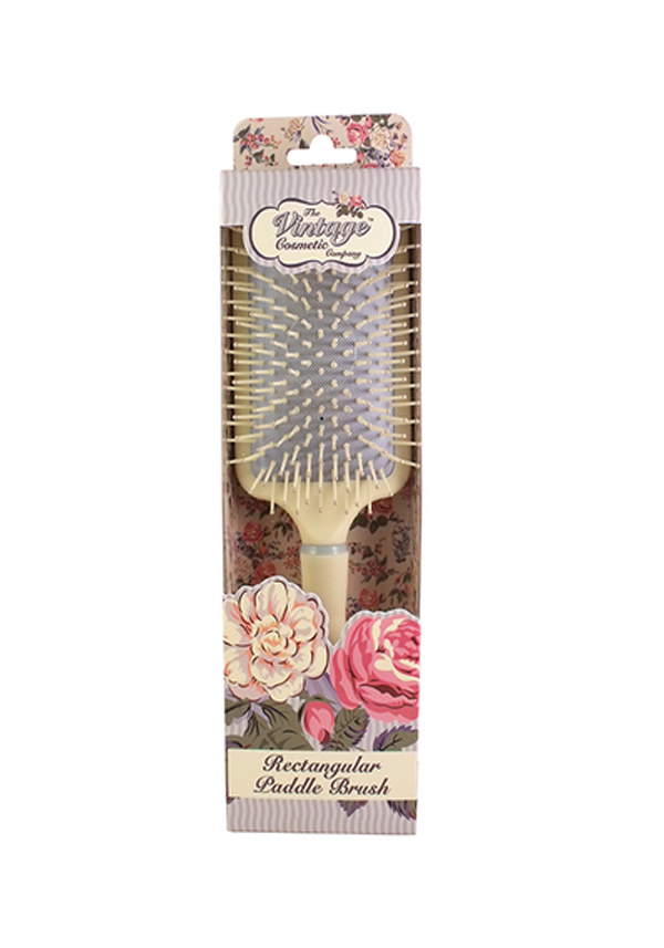 The Vintage Cosmetic Company Rectangular Paddle Hair Brush