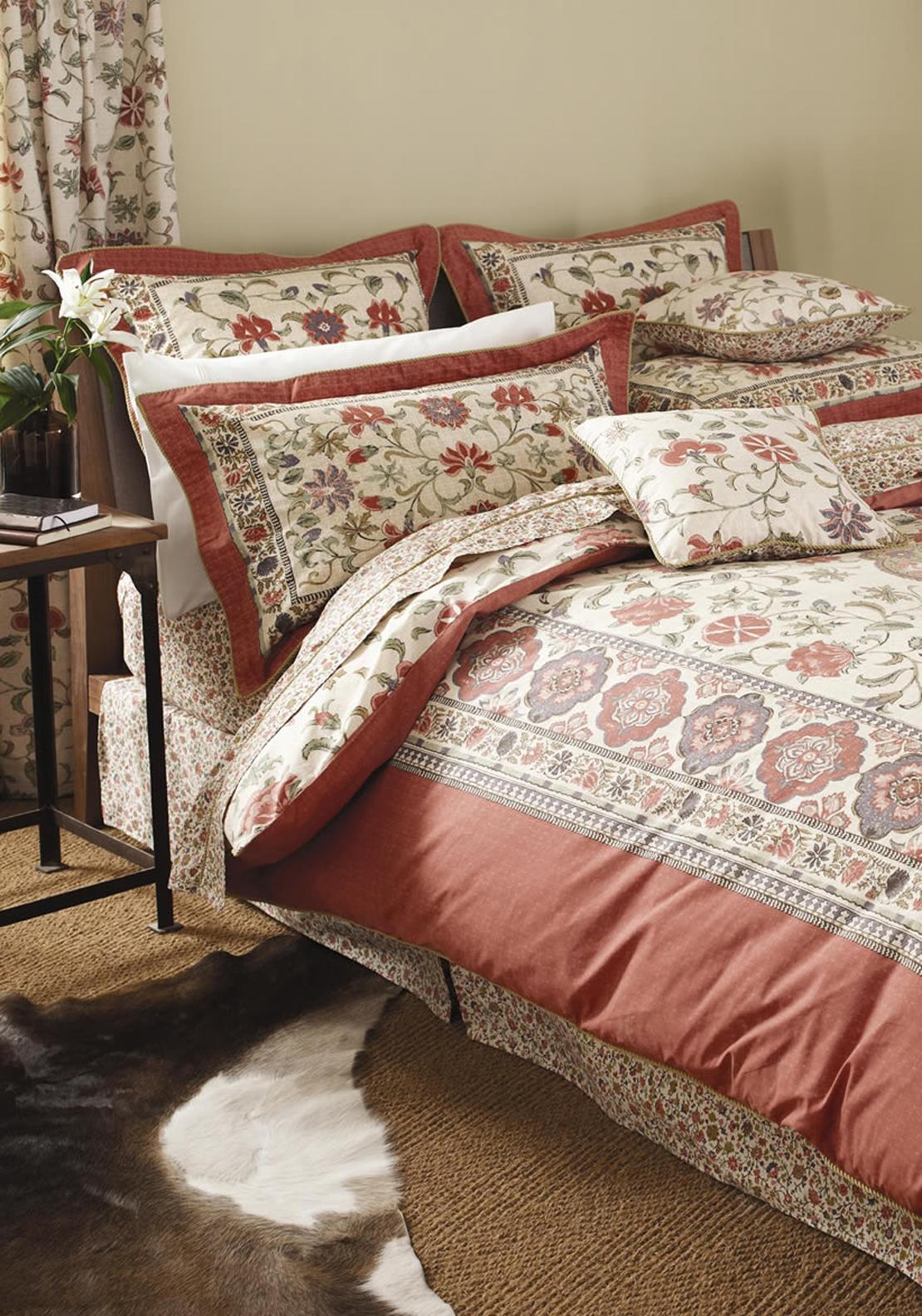 V&A Kalamkari Duvet Cover Set, Multi