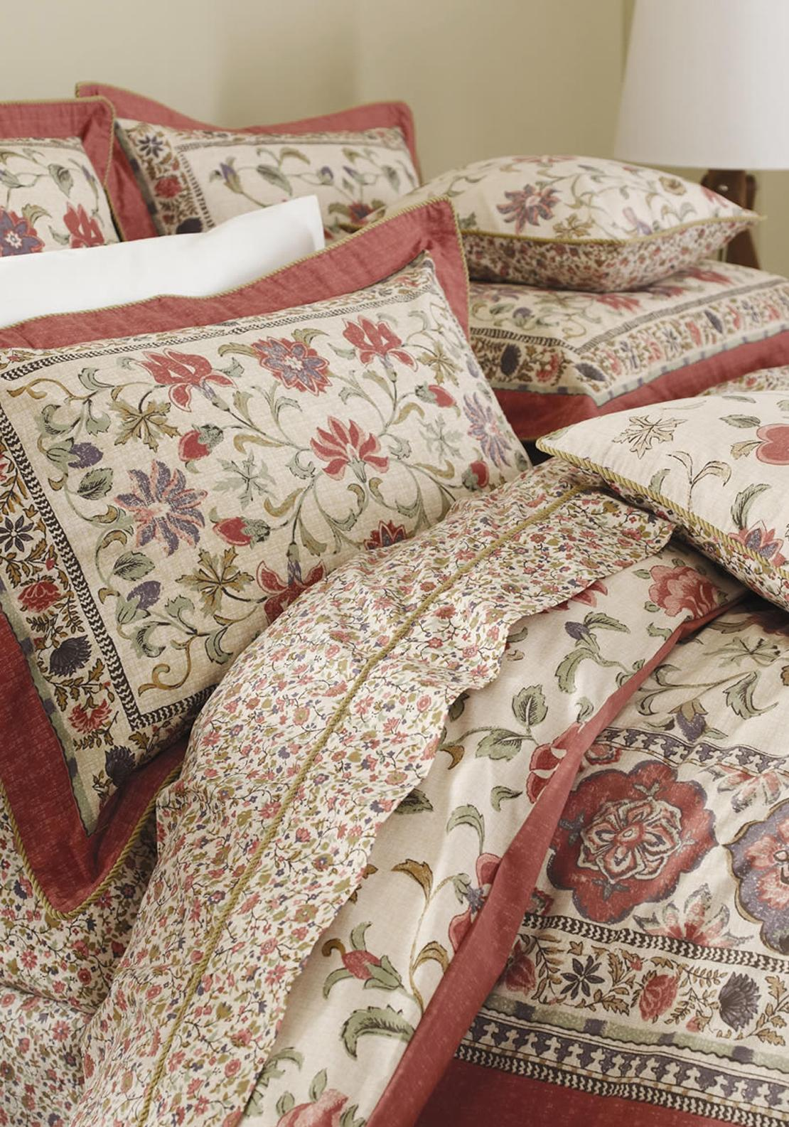 V&A Kalamkari Oxford Pillowcases, Multi