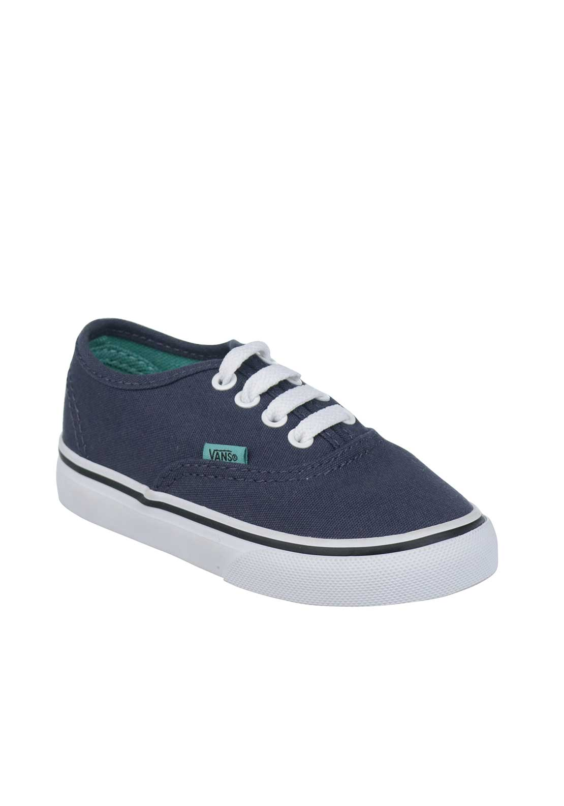 Vans Baby Boys Canvas Trainers. Navy