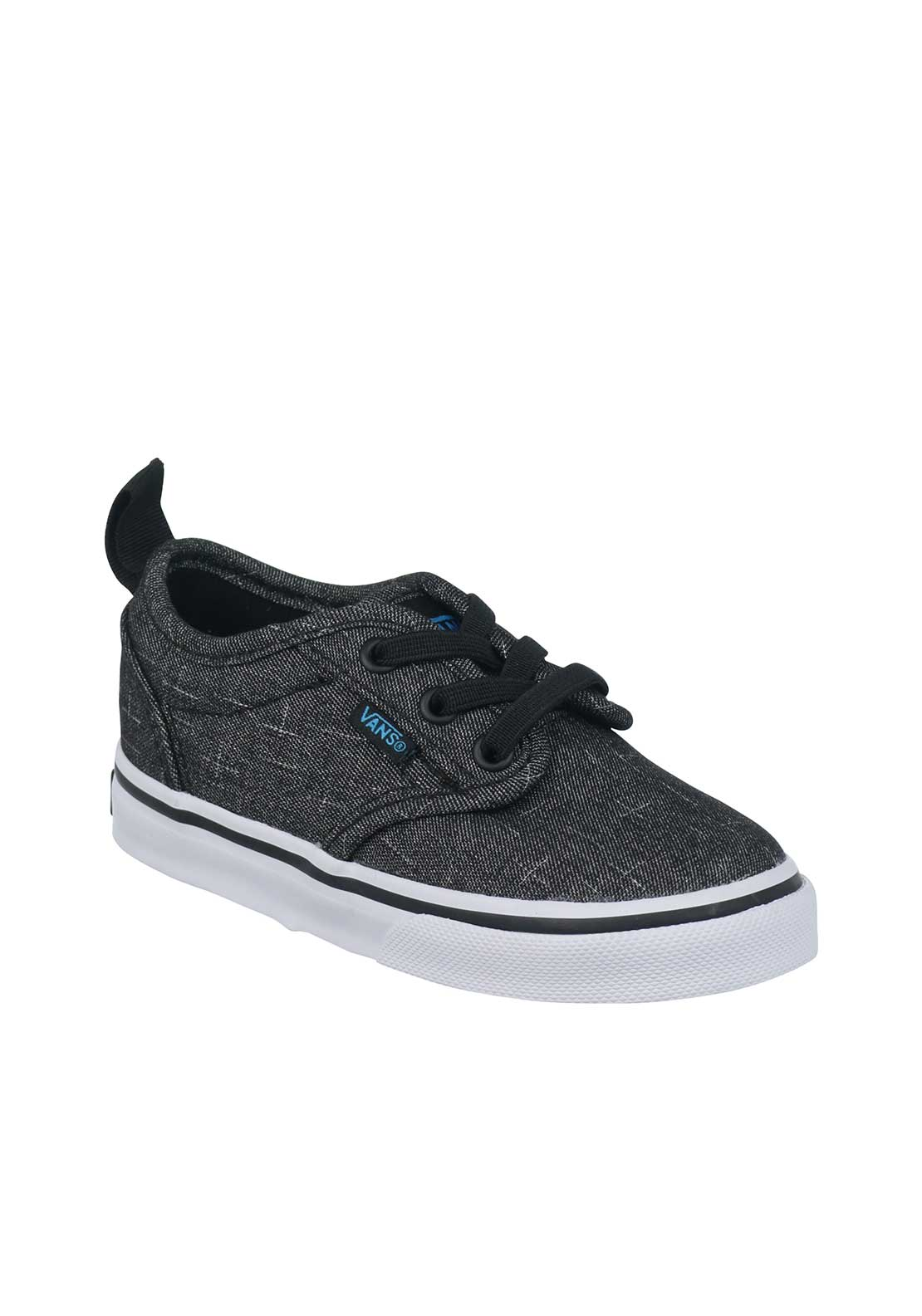 Vans Baby Boys Canvas Trainers, Grey
