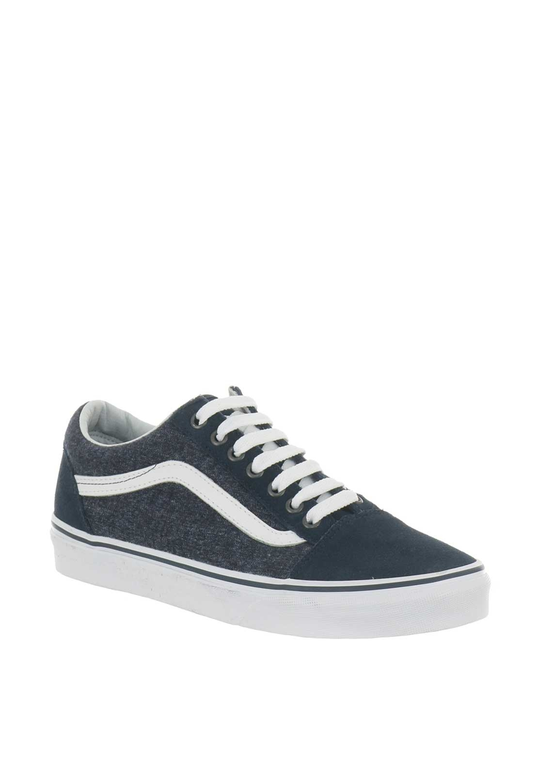 Vans Men's Old School Suede Trainers, Navy