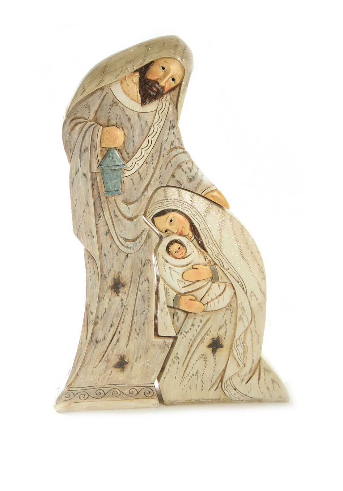Verano Nativity Two Piece Ornament