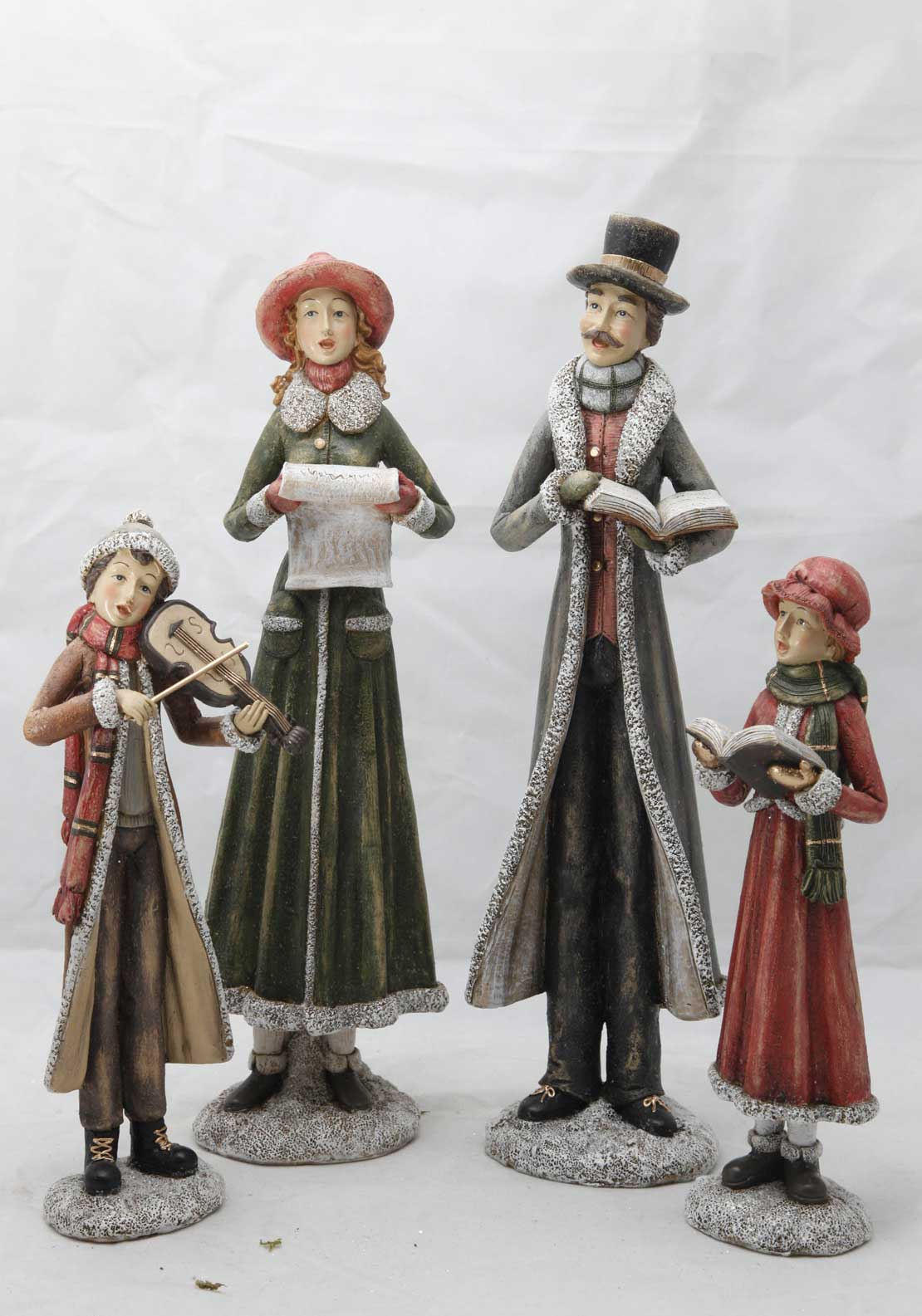 Verano Victorian Christmas Carollers Large Ornament