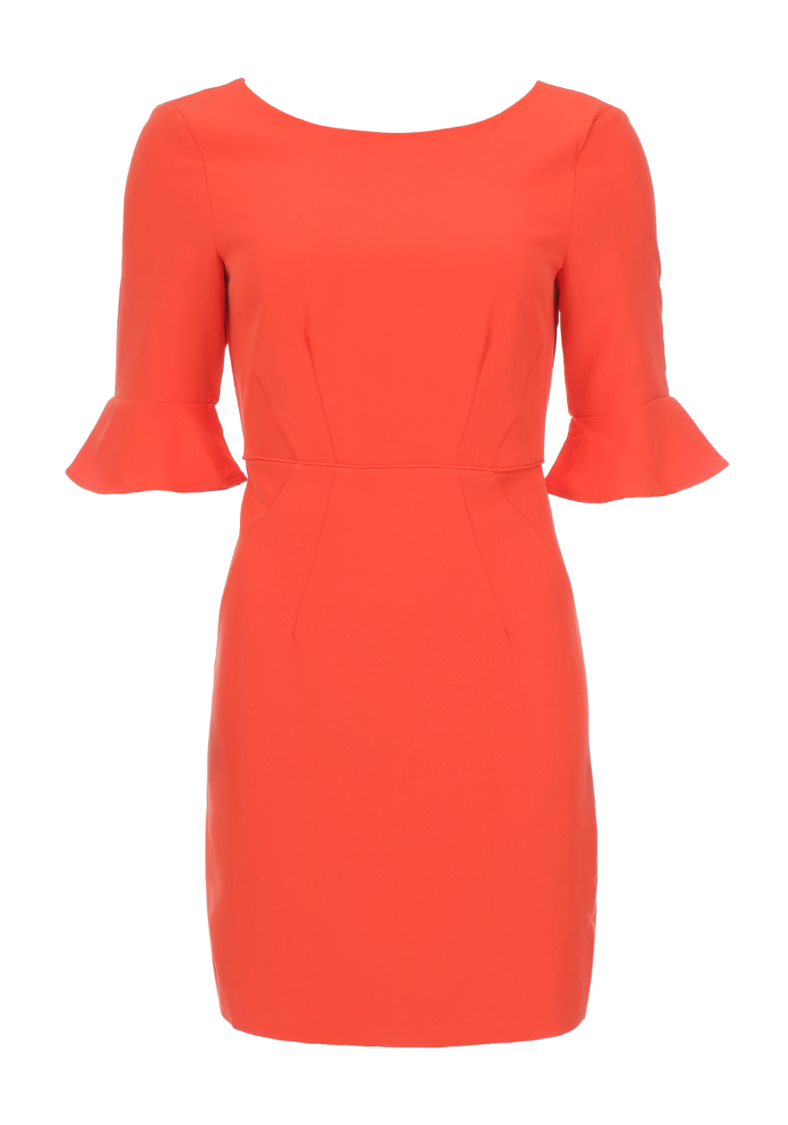Vero Moda Rasmine Pencil Dress, Orange