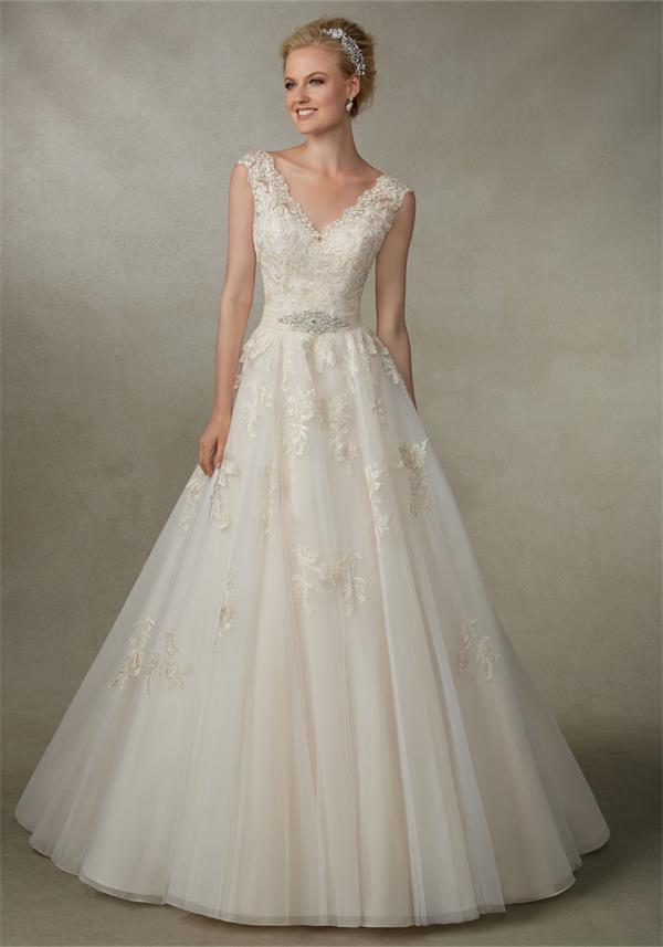 Victoria Jane 18003 Wedding Dress Blush, UK Size 12