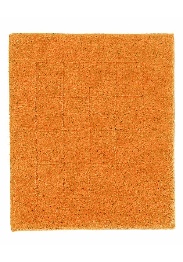 Vossen Exclusive Small Bathroom Mat, Orange