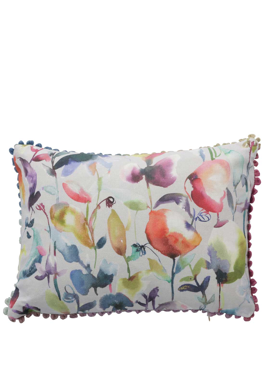 Voyage Maison Jayin Lotus Cushion, Multi