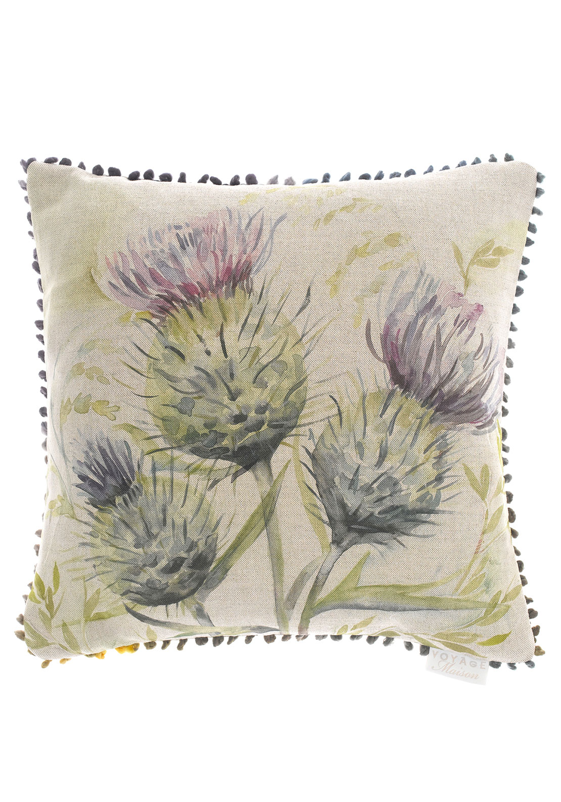 Voyage Maison Thistle Glen Cushion, Multi
