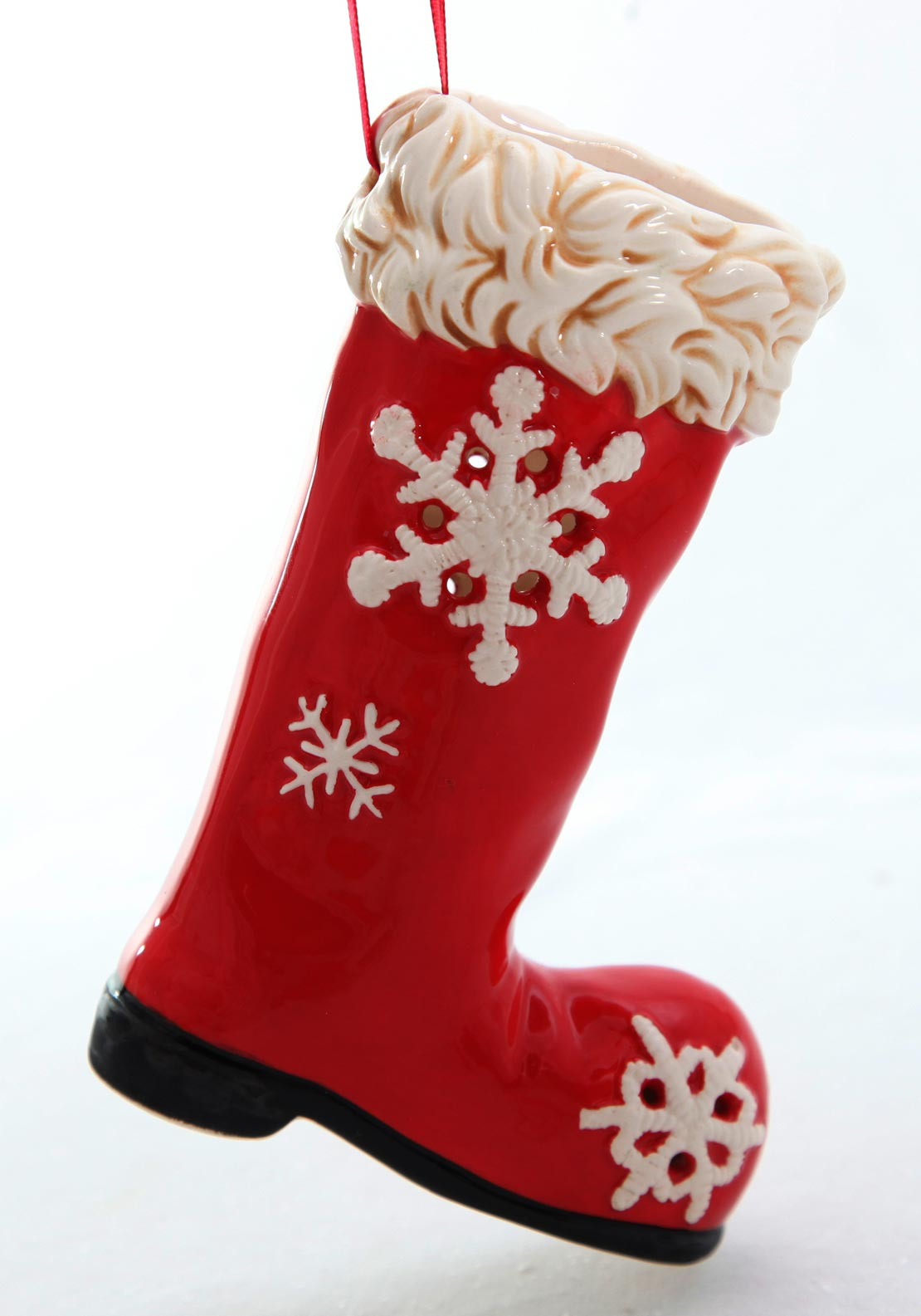 Verano Christmas Small Boot Hanging Decoration