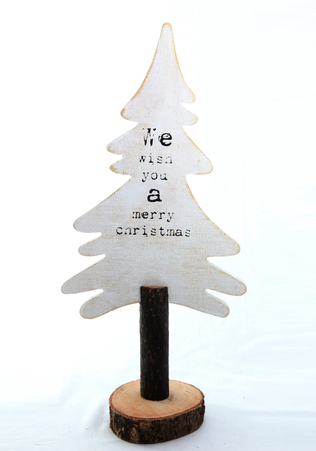 Verano Christmas Wooden Christmas Tree Small Decoration