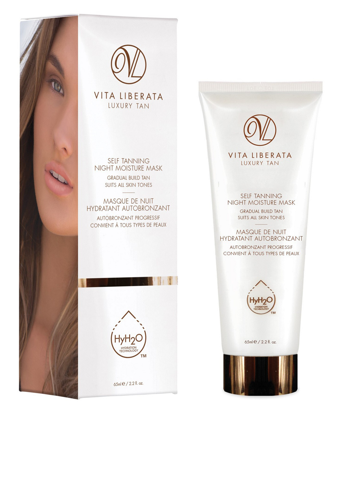 Vita Liberata Luxury Self-Tanning Night Moisture Mask, 65ml