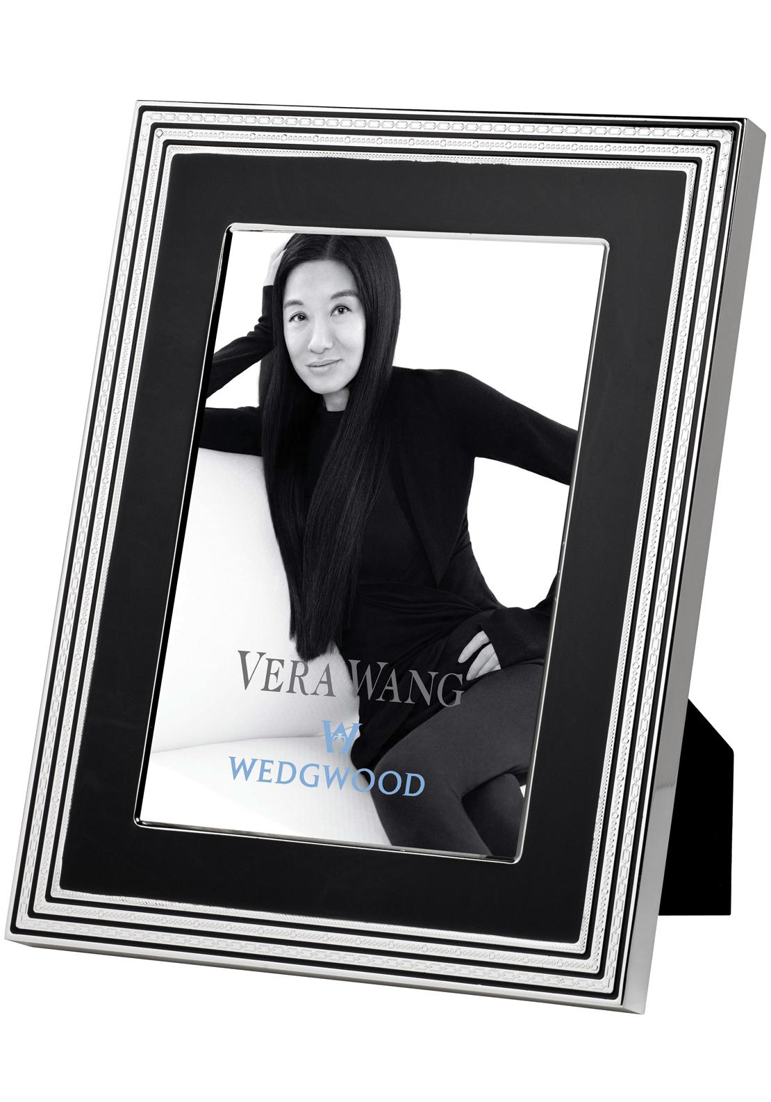 Vera Wang Wedgwood With Love Noir Photo Frame, 8 x 10 inches