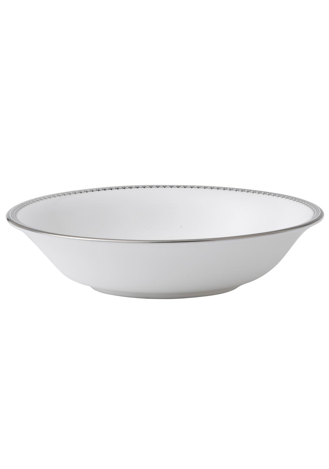 Vera Wang Wedgwood Lace Platinum Cereal Bowl