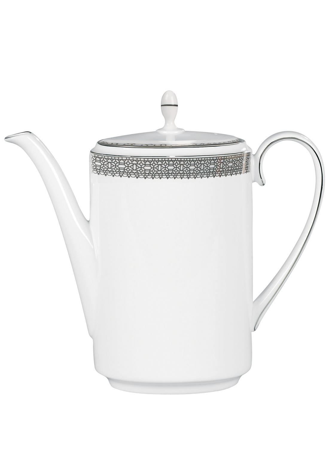 Vera Wang Wedgwood Lace Platinum Coffee Pot