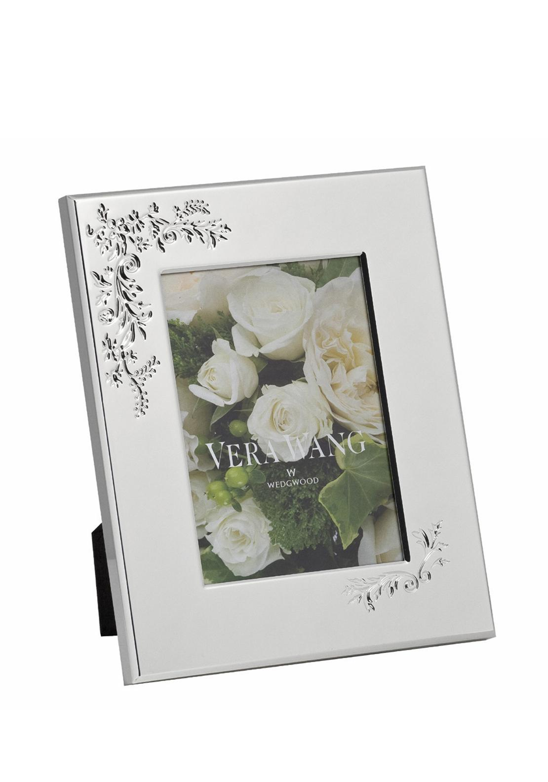 Vera Wang Wedgwood Lace Bouquet Photo Frame, 5in x 7in