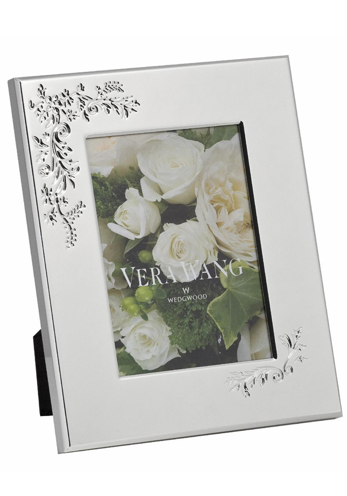 Vera Wang Wedgwood Lace Bouquet Photo Frame, 8in x 10in