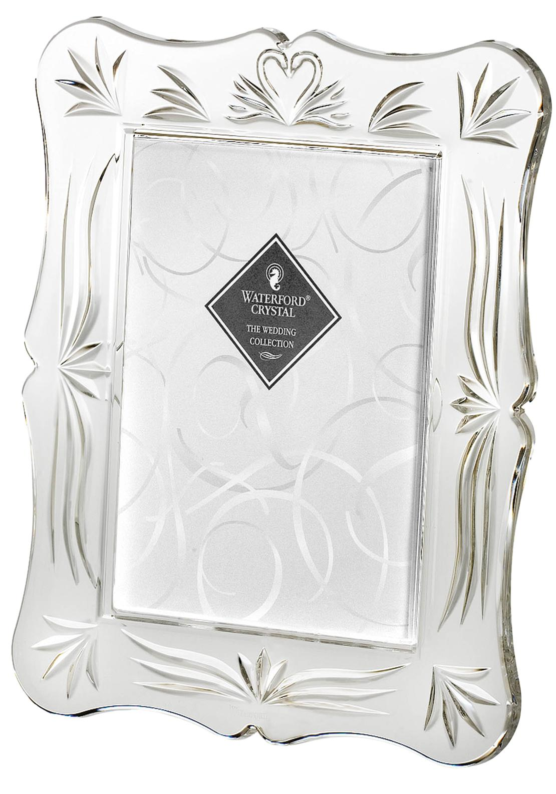 Waterford Crystal Wedding Photo Frame, 5 x 7 inches