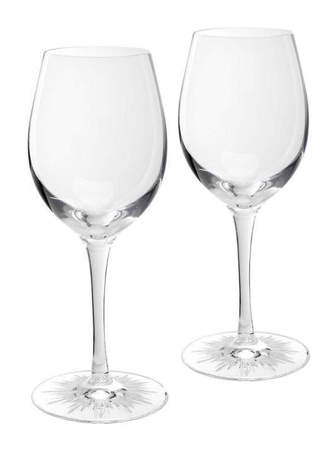 Waterford Crystal Red Wine Glass Set Of 2