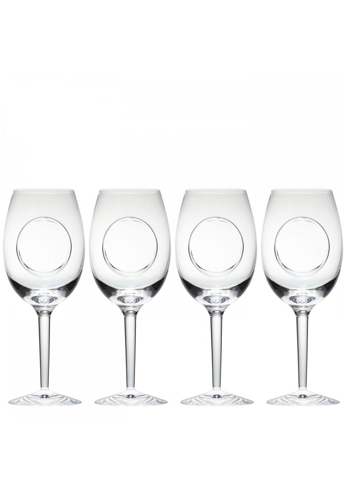 John Rocha at Waterford Circa Goblet Wine Glasses, Set of 4
