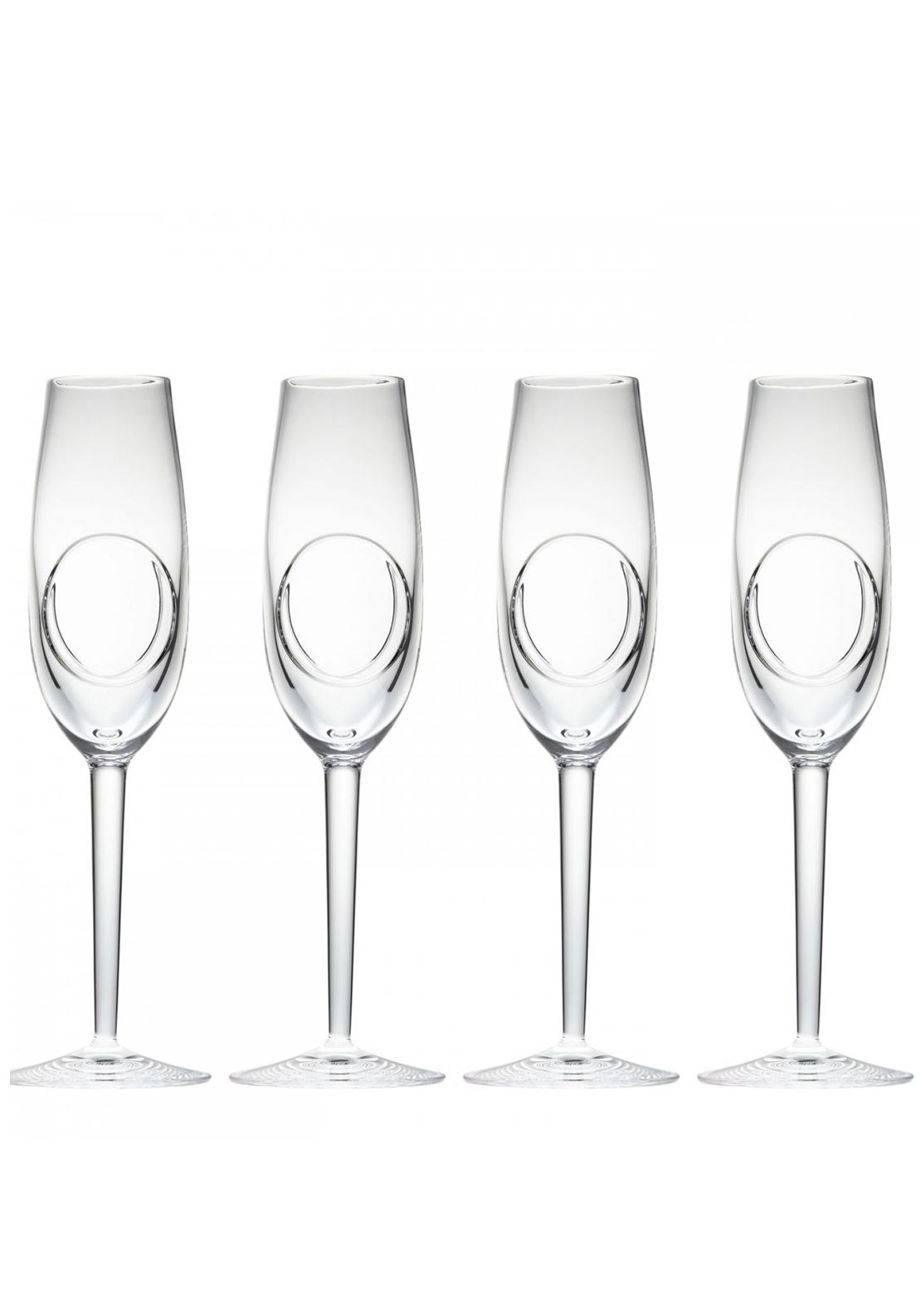 John Rocha at Waterford Circa Flute Glasses, Set of 4