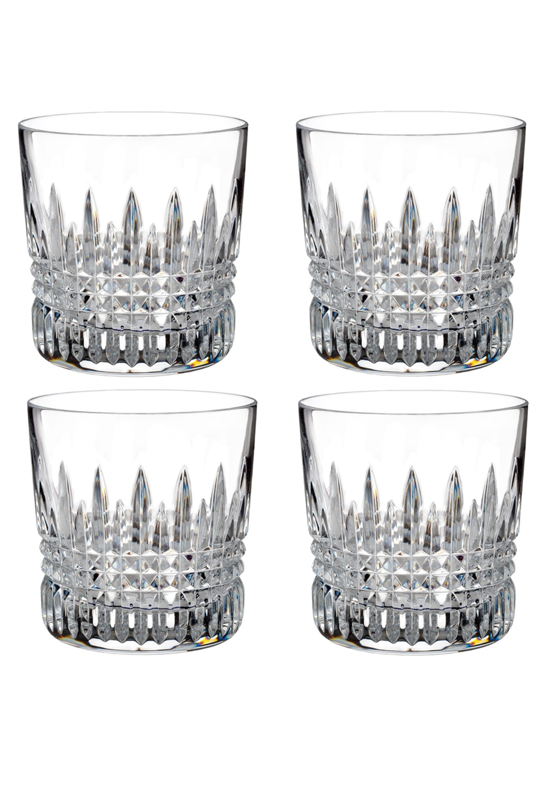 Waterford Crystal Lismore Diamond Tumbler, Set of 4