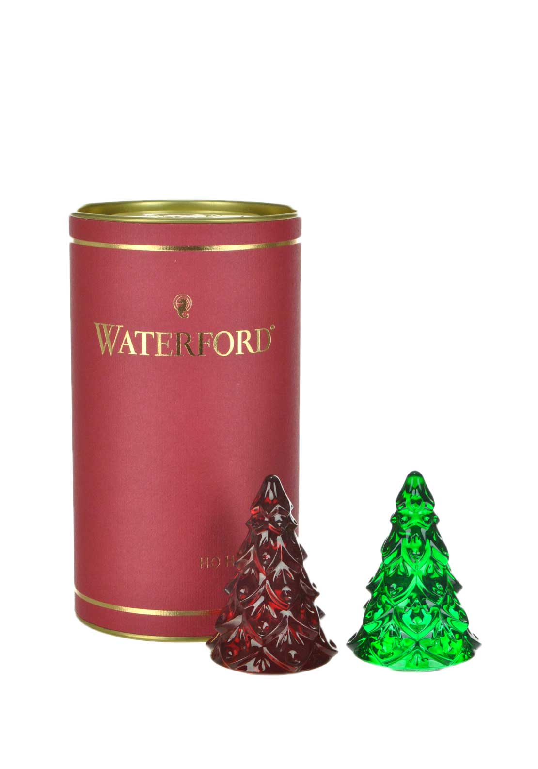 Waterford Crystal Heirloom Christmas Tree Ornaments, set of 2