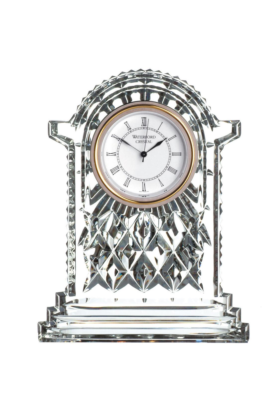 Waterford Crystal Carriage Clock, Large