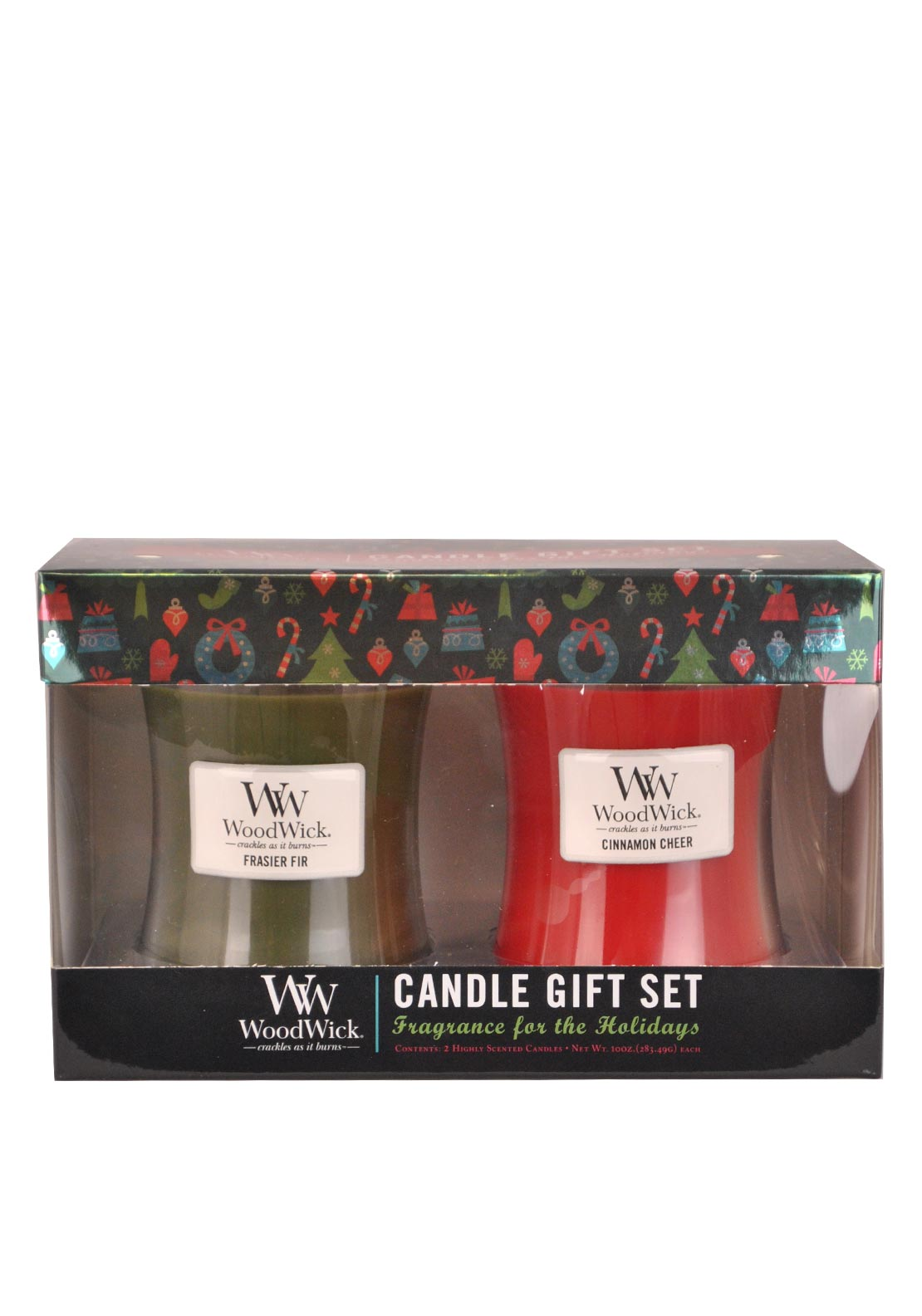 Woodwick Christmas Two Candle Gift Set